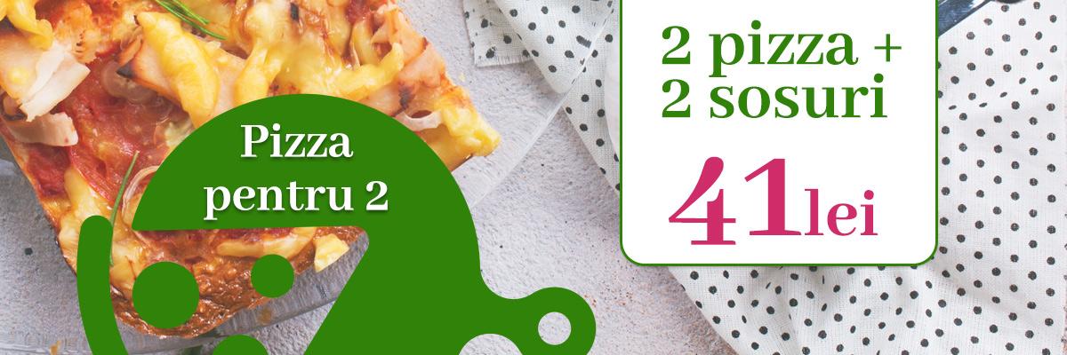 Pizza pentru 2